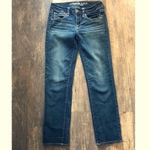 American Eagle Outfitters Jeans - American Eagle Straight Super Stretch 6L